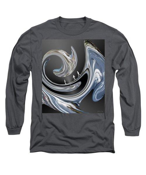 Walk On The Wild Side. Long Sleeve T-Shirt