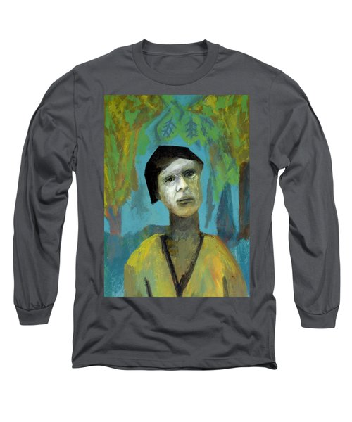 Walking In A Forest Long Sleeve T-Shirt