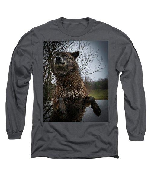 Watch The Eyes Long Sleeve T-Shirt