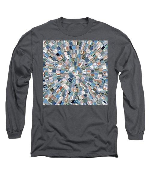 Water Mosaic Long Sleeve T-Shirt