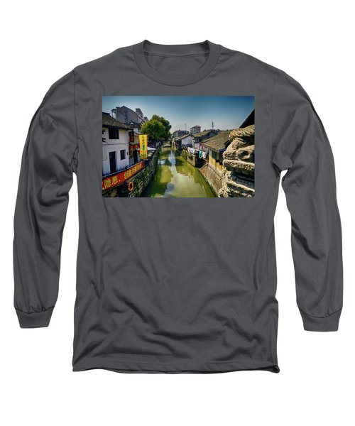 Water Village Long Sleeve T-Shirt
