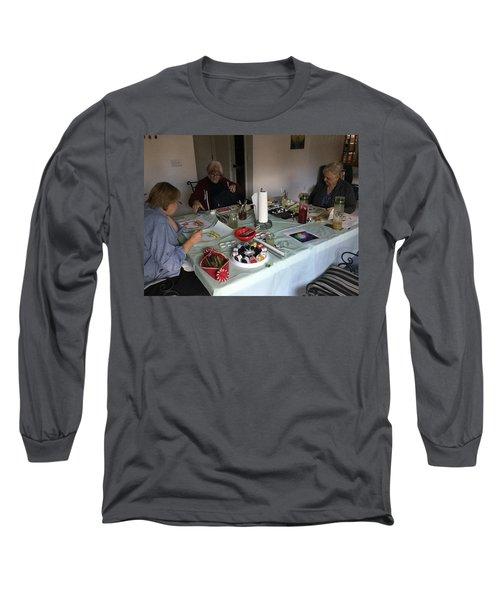 Watercolor Weekly Long Sleeve T-Shirt