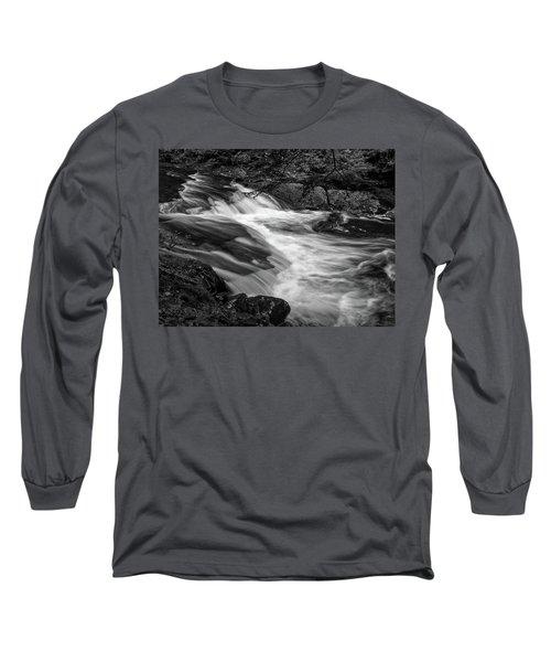 Waterfalls At Ricketts Glenn Long Sleeve T-Shirt