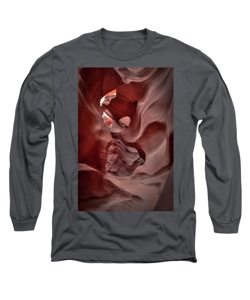 Waves And Curls Long Sleeve T-Shirt
