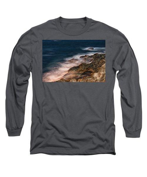 Waves And Rocks At Sozopol Town Long Sleeve T-Shirt