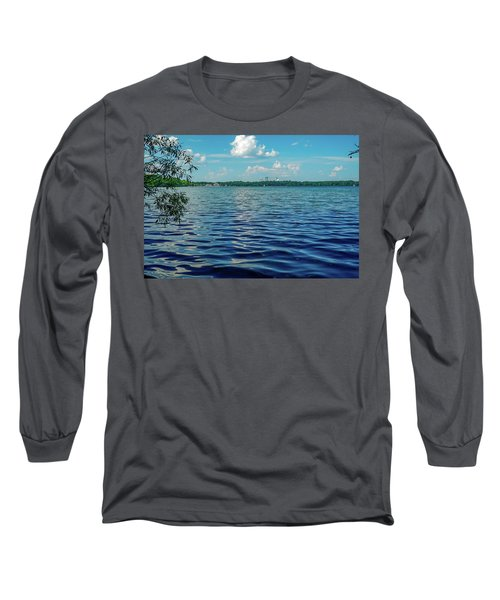 Waves On Lake Harriet Long Sleeve T-Shirt