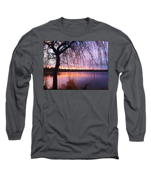 Weeping Tree Long Sleeve T-Shirt