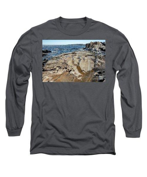 Wet Rocks Long Sleeve T-Shirt