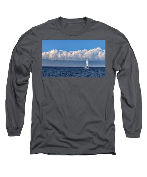 Whale Watching Long Sleeve T-Shirt