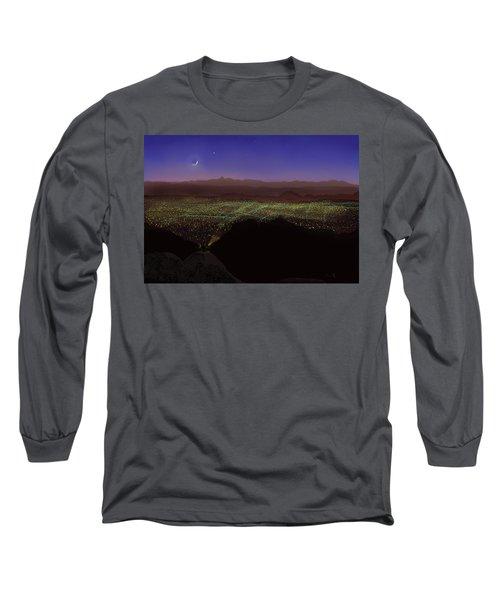 When Tucson's Lights Flicker On Long Sleeve T-Shirt