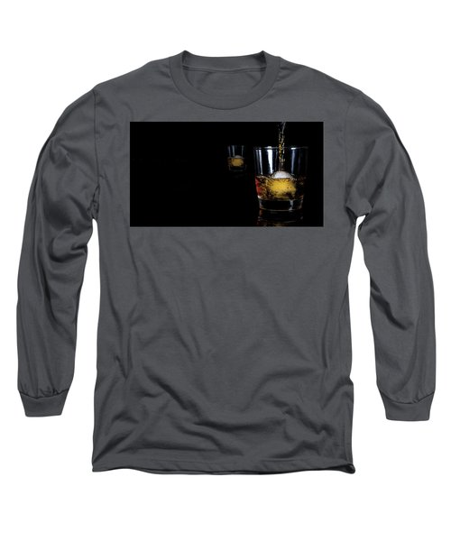 Whisky On Ice For Two Long Sleeve T-Shirt