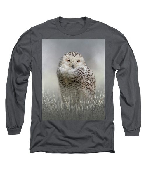 White Beauty In The Field Long Sleeve T-Shirt