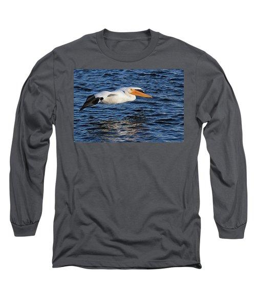 White Pelican Cruising Long Sleeve T-Shirt