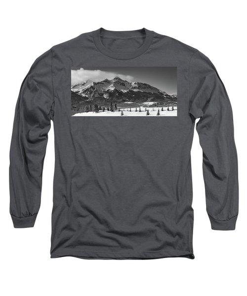 Wilson Peak Winter Panorama Long Sleeve T-Shirt