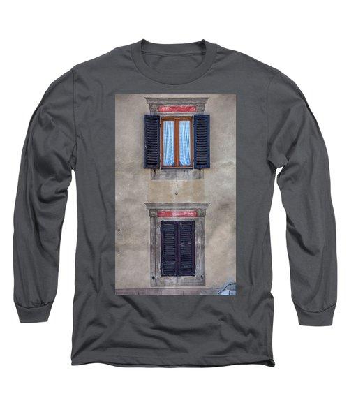 Windows Of Montalcino Long Sleeve T-Shirt