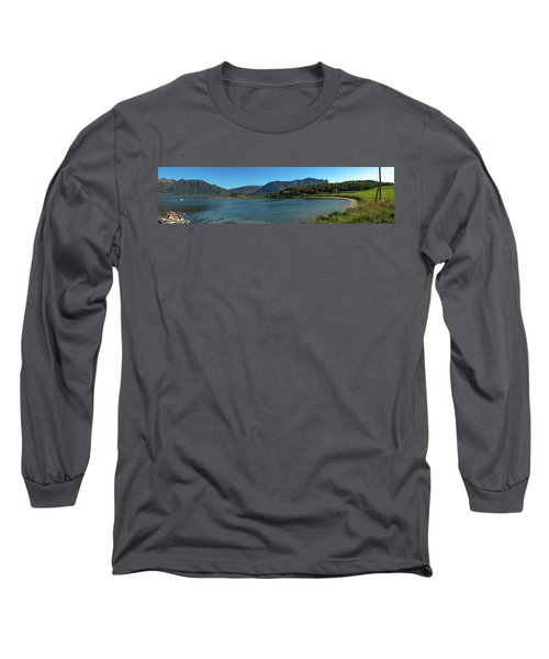 Winter Beach In Norway Long Sleeve T-Shirt