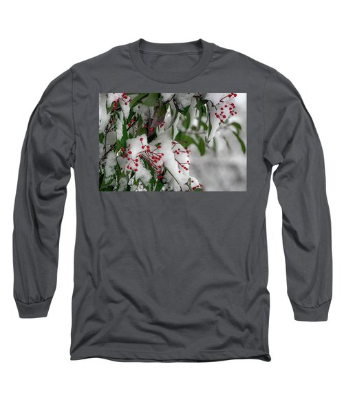 Winter Berries Long Sleeve T-Shirt