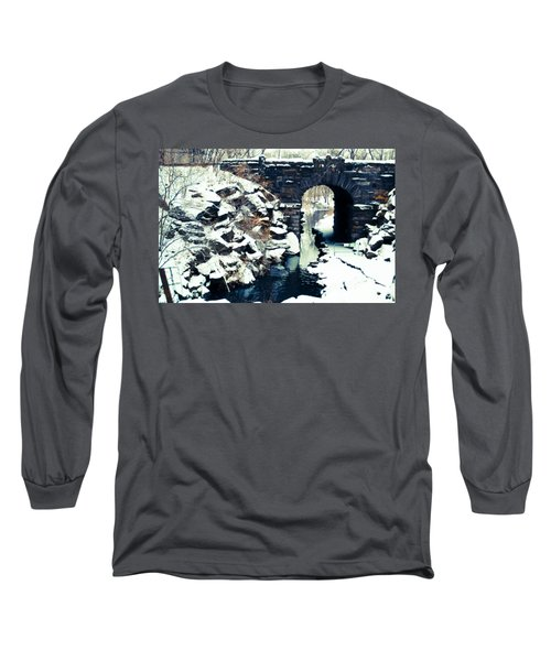 Winter Day At The Glen Span Arch Long Sleeve T-Shirt