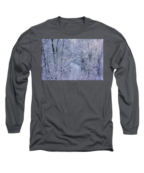 Winter Ice Storm Long Sleeve T-Shirt