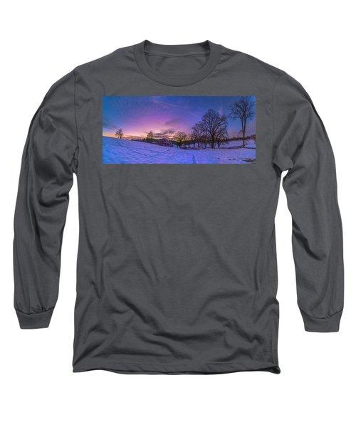 Winter Panorama Long Sleeve T-Shirt
