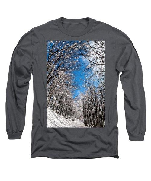 Winter Road Long Sleeve T-Shirt