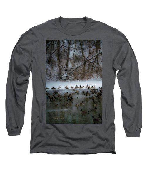 Winter Swim Long Sleeve T-Shirt