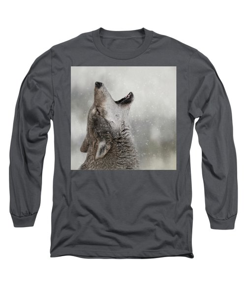 Catching Snowflakes  Long Sleeve T-Shirt