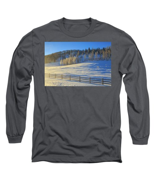 Wintertide On The Divide  Long Sleeve T-Shirt