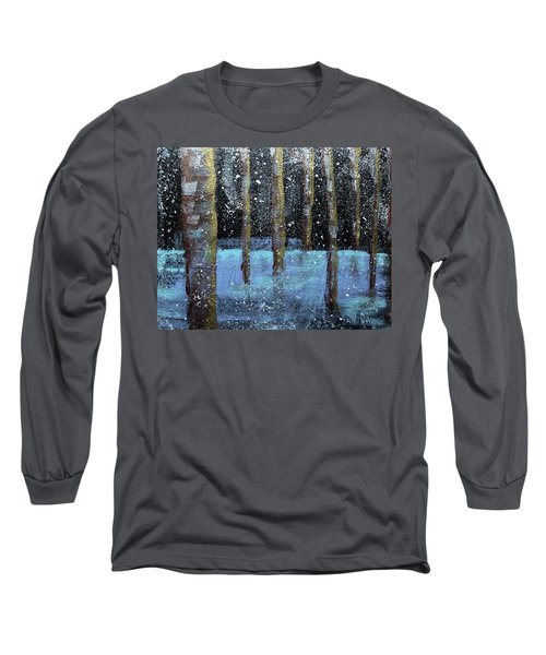Wintry Scene I Long Sleeve T-Shirt