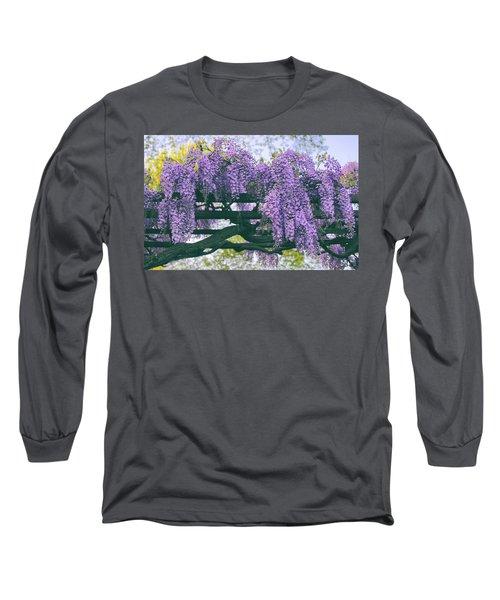 Wisteria Floribunda  Long Sleeve T-Shirt