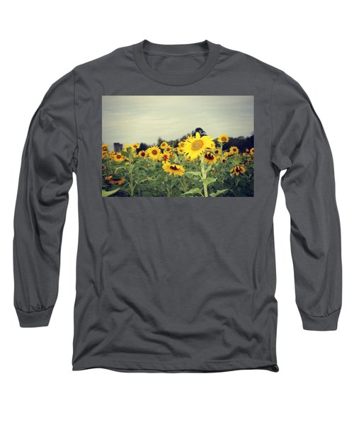 Yellow Fields Long Sleeve T-Shirt