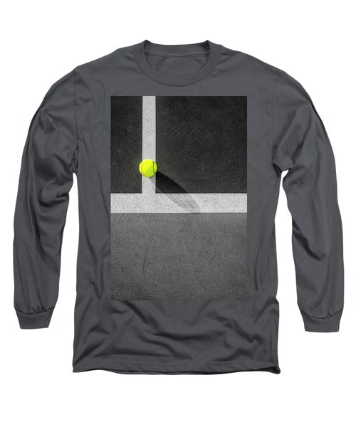Yellow On The Line Long Sleeve T-Shirt