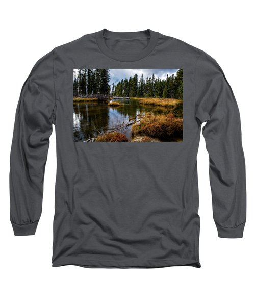 Long Sleeve T-Shirt featuring the photograph Yellowstone National Park by Scott Read