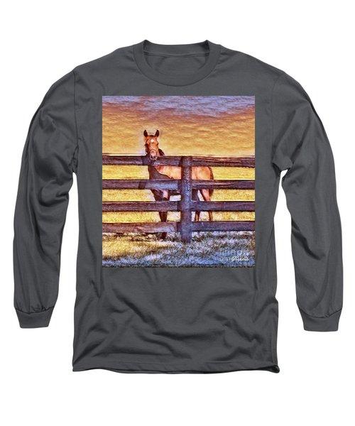 Young Kentucky Thoroughbred Long Sleeve T-Shirt