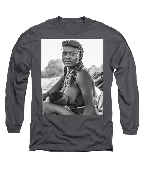 Zemba Mother And Child Long Sleeve T-Shirt