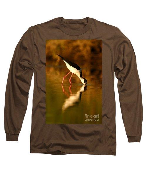 Stilt In Gold Long Sleeve T-Shirt
