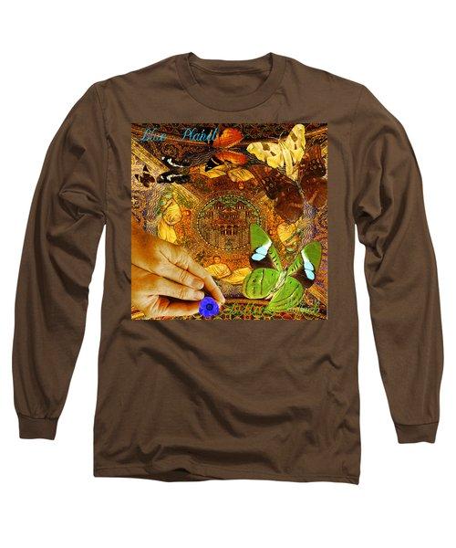 Civitate Dei   City Of God  Long Sleeve T-Shirt by Joseph Mosley