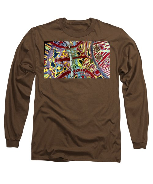 Long Sleeve T-Shirt featuring the painting  Edge Of The Universe by Jonathon Hansen