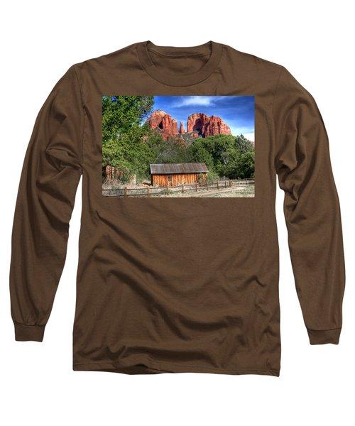 0682 Red Rock Crossing - Sedona Arizona Long Sleeve T-Shirt