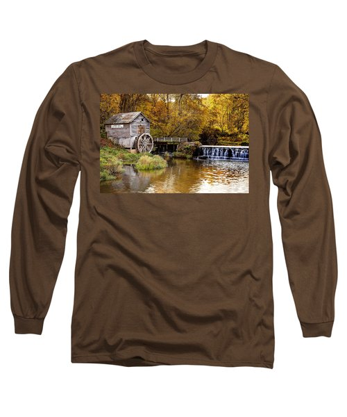 0722 Hyde's Mill Long Sleeve T-Shirt by Steve Sturgill