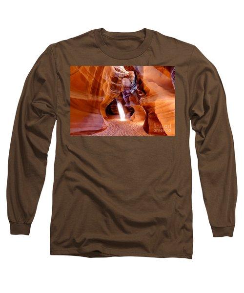 0728 Upper Antelope Canyon - Arizona Long Sleeve T-Shirt