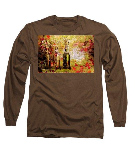 1-2-3 Bottles - S12a203 Long Sleeve T-Shirt