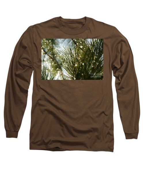 After The Rain Long Sleeve T-Shirt by Loni Collins