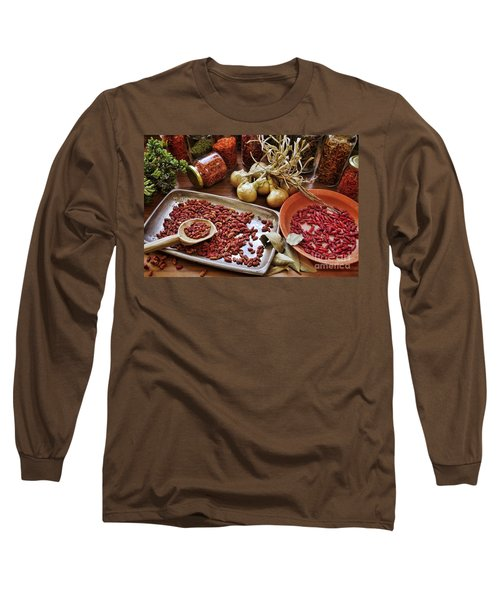 Assorted Spices Long Sleeve T-Shirt