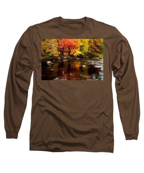 Autumn Colors Reflected Long Sleeve T-Shirt