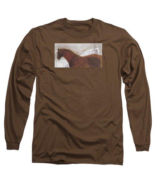 Best Friends Long Sleeve T-Shirt by Angela Davies