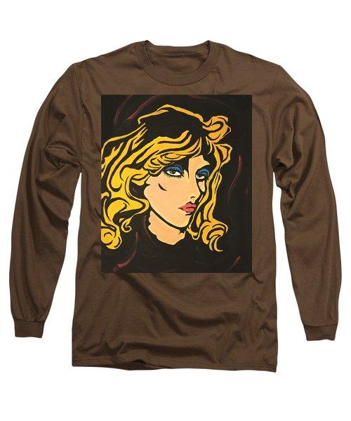 Blondie Long Sleeve T-Shirt by Sheridan Furrer
