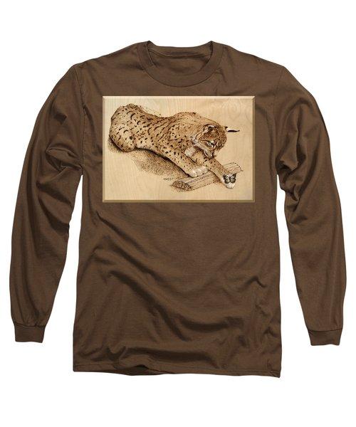 Bobcat And Friend Long Sleeve T-Shirt