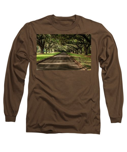 Boone Plantation Road Long Sleeve T-Shirt