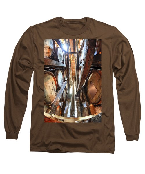 Bourbon Warehouse Long Sleeve T-Shirt by Alexey Stiop